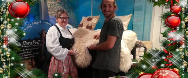 Die Minzschäferei am Weihnachtsmarkt am Lindenhof
